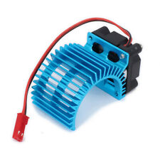 Motor Heat Sink with Cooling Fan for 1/10 Rc Hobby Hsp Hpi Wltoys Himoto Tamiya
