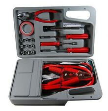 Emergency Trunk Auto Car Tool Kit with Jumper Booster Jump Start Starter Cables