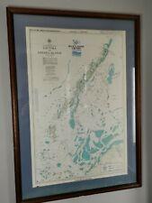 More details for vintage 1998 fiji islands nautical chart 40