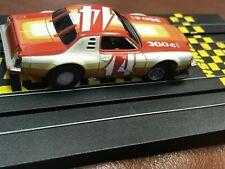Vintage Aurora Ho Not Slot Car Nascar Race Car Steerable Track Vehicle