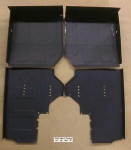 MORRIS MINOR FLOOR REPAIR PANELS - FRONT & REAR (SET 4 x QUARTER FLOORS) UK MADE
