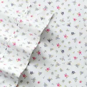 NWT The Big One 275 Thread Count Queen Bed Ditsy Floral 4pc Sheet Pillowcase Set