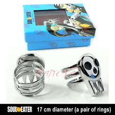 Fashion Jewelry Animation Rings 2 Pcs Cafiona Soul Eater Cosplay The Kid Ring