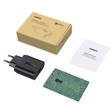AUKEY Quick Charge 3.0 USB Ladegerät 19,5W USB Netzteil für Samsung Galaxy S8