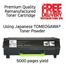 5000 pages Lexmark MS/MX 317 417 517 617 Reman.Toner cartridge replace 51B2000