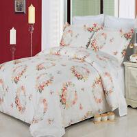 Liza 3 Piece 100% Cotton Modern Contemporary Duvet Set 300 Thread Count