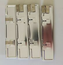 More details for 4x silver aluminium memory heatsink heat spreader for ddr ram - 4 pieces