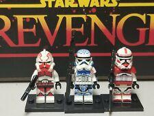 Clone Troopers shock Coruscant guard lot 3 minifigures Star Wars Skywalker