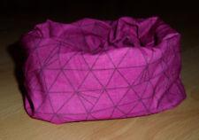 Kinder Mädchen Damen Schlauchschal Loop Schal Multifunktionstuch Pink 48 cm