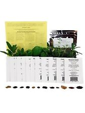 Assortment of 12 Culinary Herb Seeds - Grow Cooking Herbs- Parsley Thyme Cila.