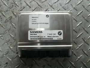 BMW 3 SERIES ENGINE ECU ONLY, E46, P/N 12147564454, 09/98-07/06