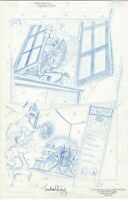 Sonic the hedgehog full 5 page story Father & Son Jon Gray unpublished version