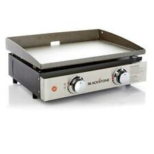"""Blackstone 22"""" Tabletop Grill 2 Burner Propane Griddle for Outdoor Cooking"""