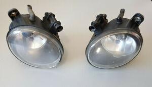 09-12 Audi A4 S4 Front Bumper Fog Light Lamp Left & Right Set Pair OEM (HELLA)