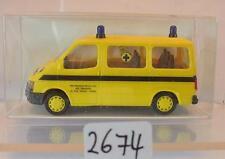 Rietze 1/87 Nr. 50617 Ford Transit Bus Ambulance Ziekhus Belgien OVP #2674