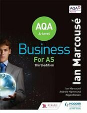 AQA Business for AS (Marcous�) by Hammond, Andrew Book The Cheap Fast Free Post