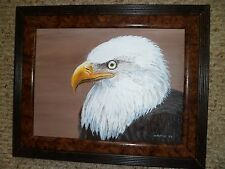 HANDSOM MR. EAGLE-9X12 original acrylic by Willard W. Hoffert