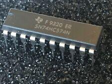 ORIGINAL TEXAS SN74HC574N  20 PIN DIL CHIP  UK STOCK  x1            fbb30a59