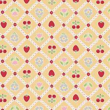 Riley Blake Bake Sale Designer Fabric C3432 Yellow 100% Cotton fat quarter