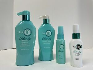 its a 10 Blow Dry Miracle Glossing Shampoo+Glossing Glaze Conditioner 10 oz+lot