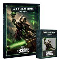 Warhammer 40,000 Dark Imperium 40K NECRON CODEX and/or DATACARDS