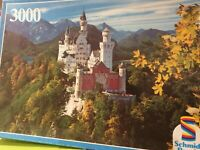 3000 Piece Jigsaw Puzzle castle large house Scene many listed