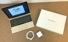 Apple MacBook M3-7Y32 1.2 8GB 256GB 12 (gold) (mid 2017) MNYK2LL/A A1534 ✅❤️️✅❤️