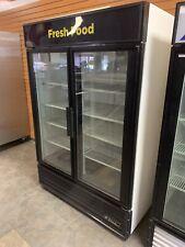 True Gdm 49 2 Glass Swing Door Merchandiser Coolerrefrigerator 120v Working