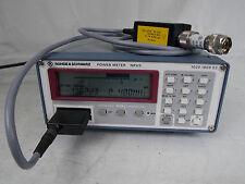 Rohde & Schwarz Power Meter Nrvs & Peak Power Sensor Nrv-Z32 Standard Calibrator