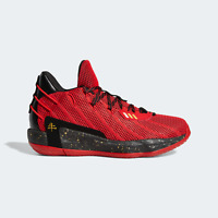 adidas Men's Dame 7 Basketball Style Shoes in Red and Black