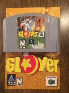 Glover (Nintendo 64, 1998) Cart & Manual