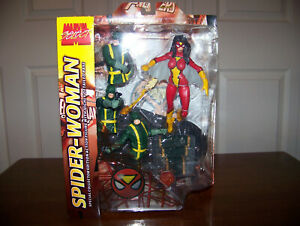 MARVEL SELECT SPIDER-WOMAN ACTION FIGURE - VARIANT RARE