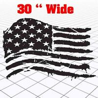 Jeep American Flag sticker,Jeep Distressed American Flag decal,jeep flag
