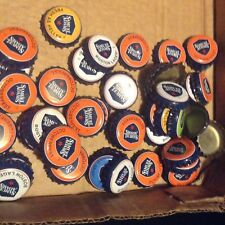 100 SAM  ADAMS BEER BOTTLE CAPS - mixed colors- new style