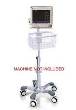 Rolling Roll stand for GE CARESCAPE B40 monitor (big wheel), NEW