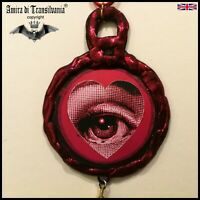 fornasetti talisman necklace amulet pendant charms good luck money love jewelry