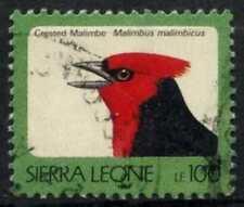 Sierra Leone 1992-9 SG#1902B, 100L Birds 1997 Imprint Date Type I Used #D67025