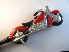 """HAND PAINTED """"MOTORCYCLE"""" #4 FANCY BACK SCRATCHER- GREAT GIFT FOR ALL OCCASIONS!"""