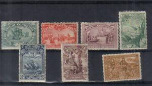 Portuguese Timor 1898 Vasco da Gama Seven values to 24a moiunted mint