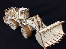 Caricatore in legno taglio laser 3d Puzzle Kit Modello/