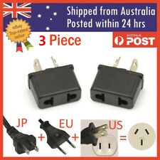 3PCS US EU USA CHINA to AU Australia Plug AC DC Power Adapter Travel Converter