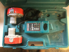 Makita battery charger DC1804T, and 2 batteries PA18 +Case