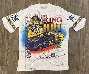 NASCAR Vintage 1994 JOE'S CAMEL KING HUT STRICKLIN T-Shirt NEW IN PKG Free Ship
