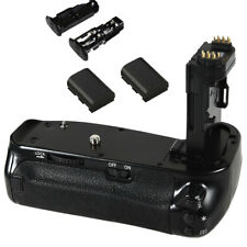 Multi Power Hand Battery Grip + 2 pcs Batteries For CANON 6D Mark II As BG-E21