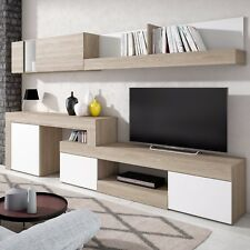 Mueble de comedor, salon moderno cuatro modulos, modelo Argos