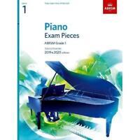 Piano Exam Pieces 2019 & 2020, ABRSM Grade 1 - Sheet music NEW  07/06/2018