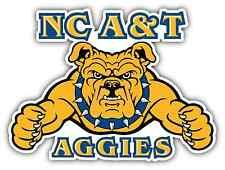 "North Carolina A&T Aggies College NCAA Car Bumper Vinyl Sticker Decal 5""X4"""