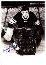 "Terry Sawchuk ""Mr. Zero"", All-Time Great Goalie - very Rare!"
