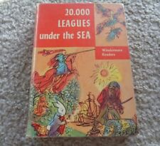 20,000 Leagues under Sea by Jules Verne, Hardcover Vintage
