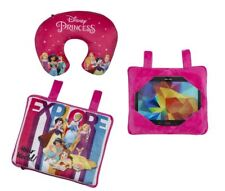Disney Princess Travel Trio 3 in 1 Decor Cushion Neck Pillow Car Tablet Holder